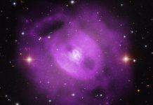 Composição do grupo de galáxias NGC 5813 no visível e em raios-X.