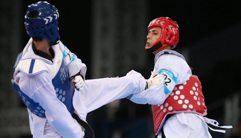 O português Rui Bragança levou uma medalha de ouro no Taekwondo, nos Jogos Europeus de Baku 2015