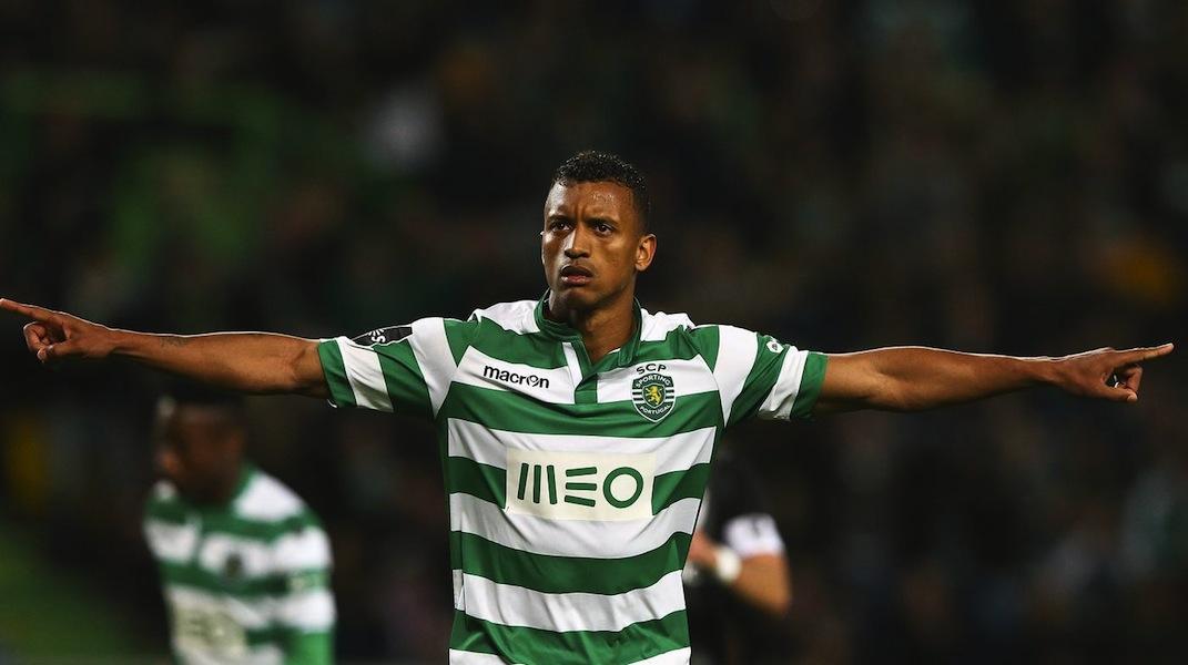 Benfica tenta trocar Gaitán por Nani