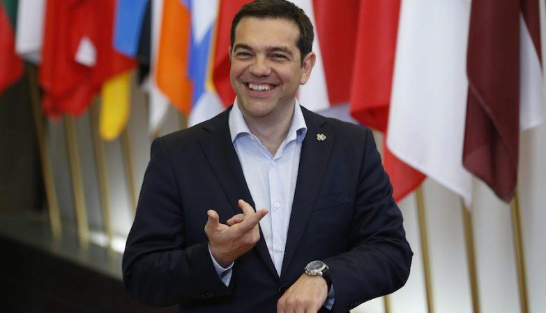 O primeiro-ministro da Grécia, Alexis Tsipras