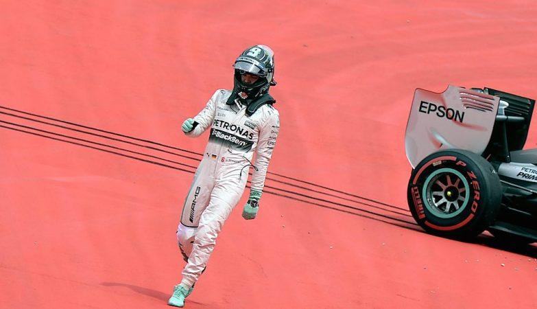 Nico Rosberg (Mercedes) no Grande Prémio da Áustria de F1 2015