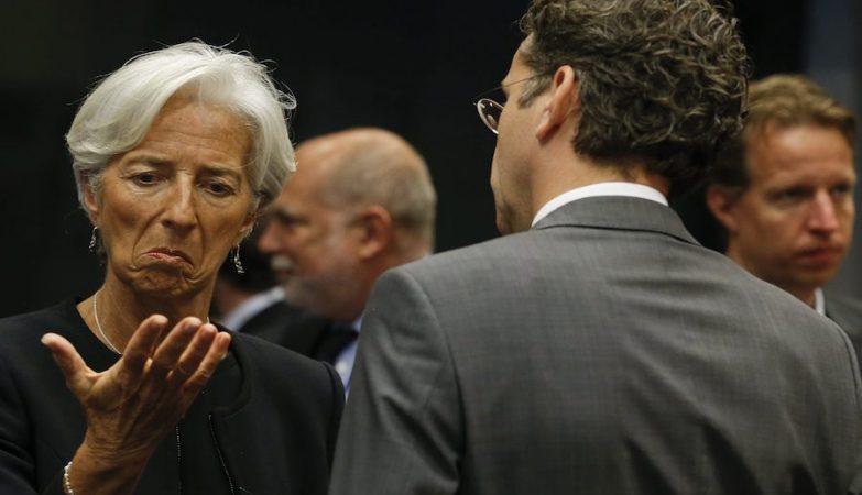 Christine Lagarde, Jeroen Dijsselbloem