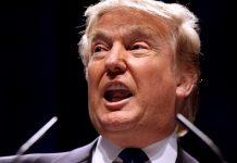 O presidente norte-americano Donald Trump
