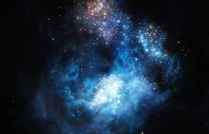 CR7, a galáxia mais brilhante encontrada até à data no Universo primordial