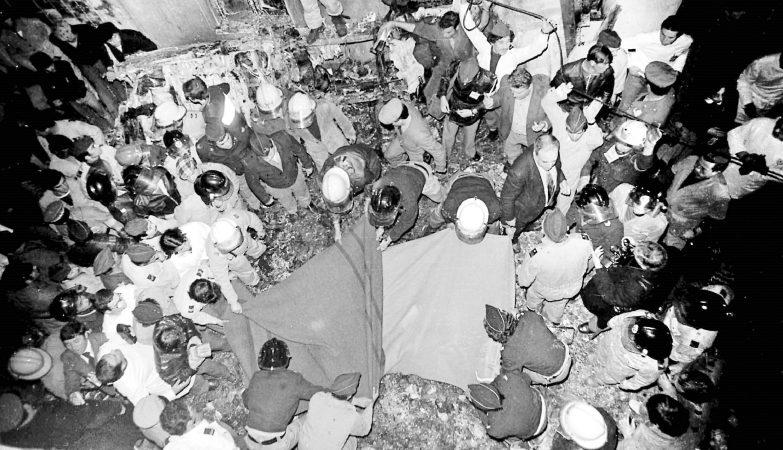Queda do avião Cessna que transportava Sá Carneiro e Amaro da Costa em Camarate, 4 de Dezembro de 1980
