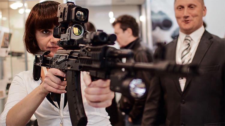 A nova Ak-47 pode agora ser equipada com um módulo de acesso à Internet