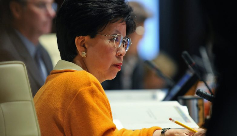 A directora-geral da OMS, Margaret Chan