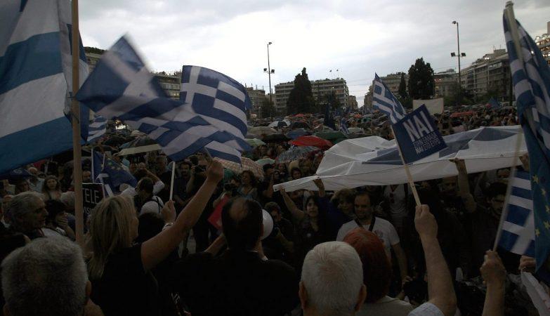 """A Atenas """"elegante e europeia"""" voltou a descer à rua"""