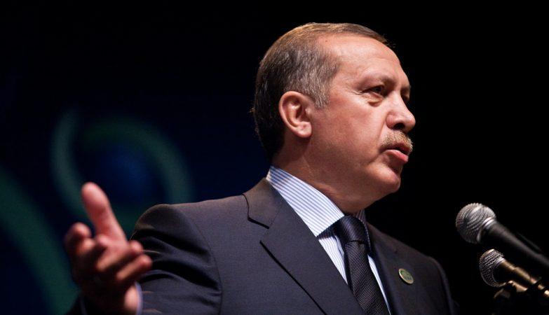 O primeiro-ministro da Turquia, o islamita Recep Tayyip Erdogan.