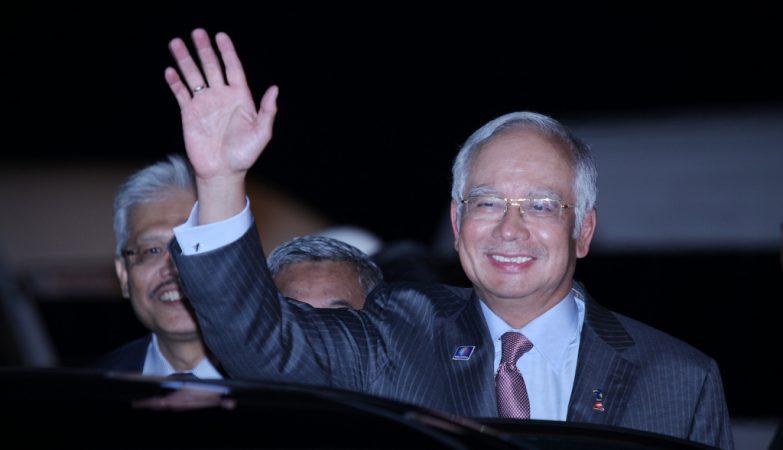 O primeiro-ministro da Malásia, Najib Razak.