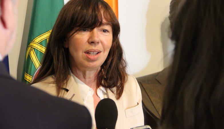 A deputada social-democrata Teresa Leal Coelho