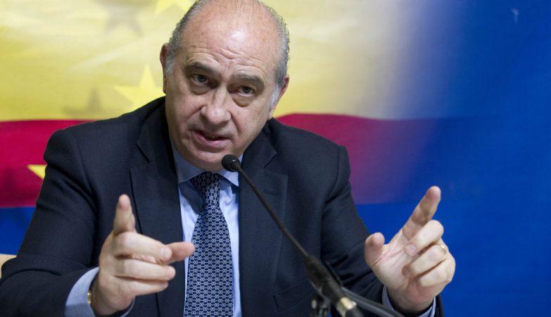 Jorge Fernandez Diaz, ministro do Interior de Espanha
