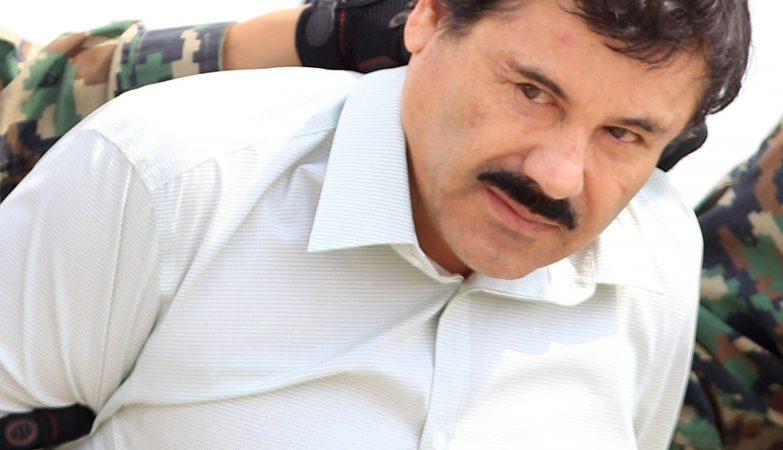 O barão da droga Joaquin Guzman Loera, conhecido como El Chapo
