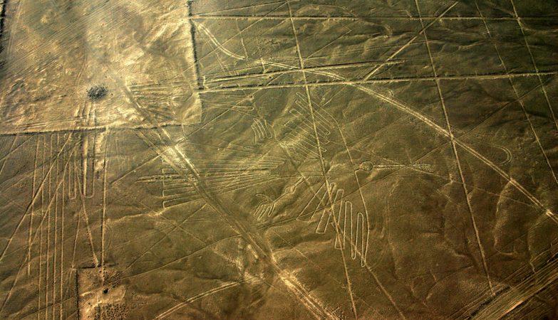 O Condor das Linhas de Nazca, no Peru