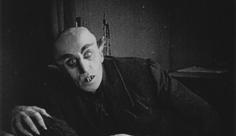 Max Schreck  no papel de Nosferatu (1922), realizado por F.W. Murnau