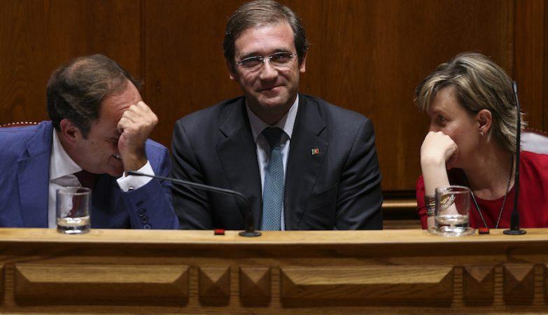 Paulo Portas, Pedro Passos Coelho, Maria Luís Albuquerque