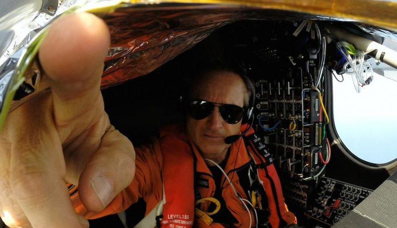 André Borschberg entrou para a história da aviação com o Solar Impulse 2
