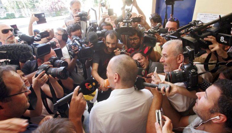 Nos últimos dias, Yanis Varoufakis deixou claro repetidamente que, se não vencer o 'Não' no referendo, se demite imediatamente.