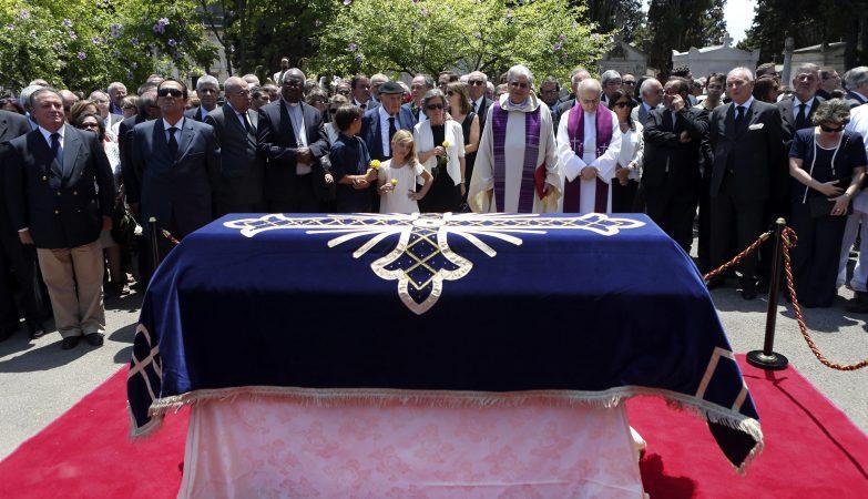 O funeral de Maria Barroso, mulher de Mário Soares, falecida a 7 de julho, aos 90 anos