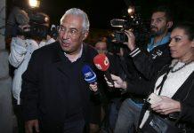 O secretário-geral do PS, António Costa