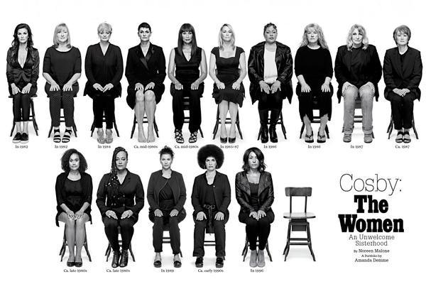 35 mulheres denunciaram os abusos sexuais sofridos às mãos de Bill Cosby