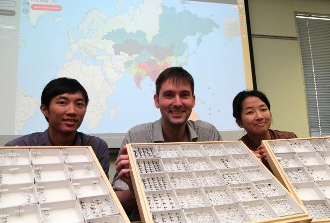 Benoit Guenard, professor de Ciências Biológicas na Universidade de Hong Kong