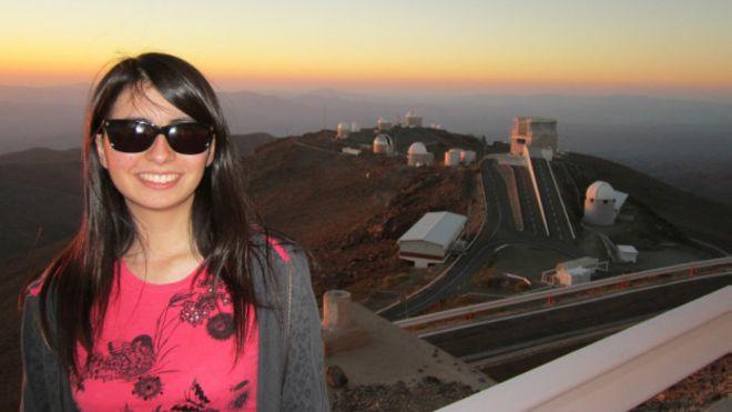 A astrónoma chilena Maritza Soto diz que não esperava fazer uma descoberta notável tão cedo