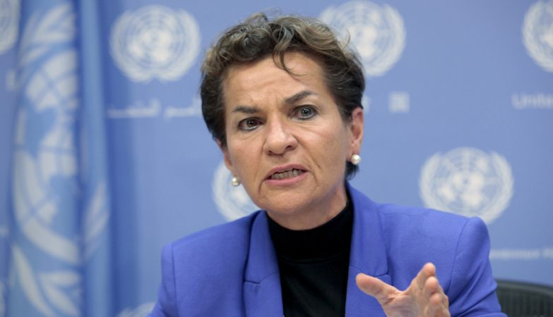 Christiana Figueres, diretora executiva da United Nations Framework Convention on Climate Change