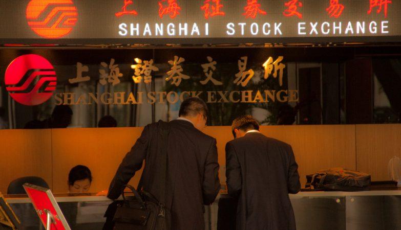 Bolsa de valores de Shanghai, China