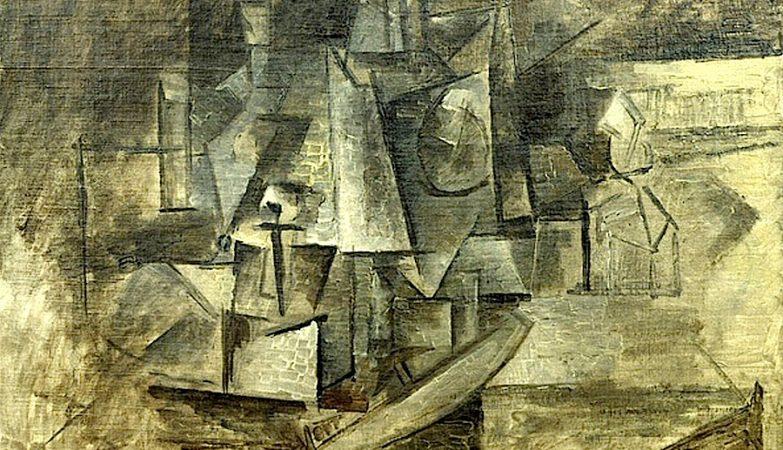 """""""La Coiffeuse"""" / A Cabeleireira, Pablo Picasso, 1911"""