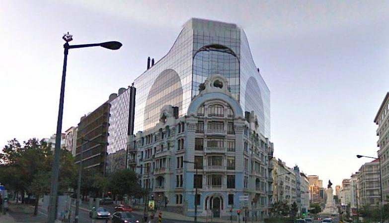 Edifício Heron Castilho, na Rua Braancamp