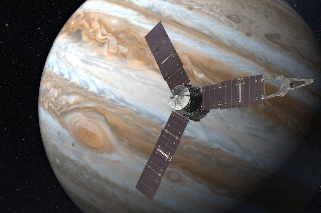 A massa do novo planeta é 'no mínimo' três vezes maior do que a de Júpiter (na foto)