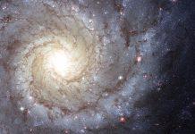 Imagem de Messier 74 pelo Telescópio Hubble.