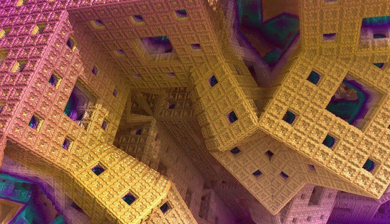 Os sistemas caóticos são muitas vezes descritos por padrões fractais