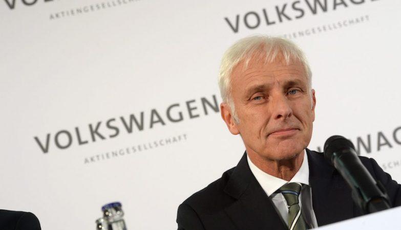 Matthias Mueller, CEO da Porsche e o novo presidente do grupo Volkswagen