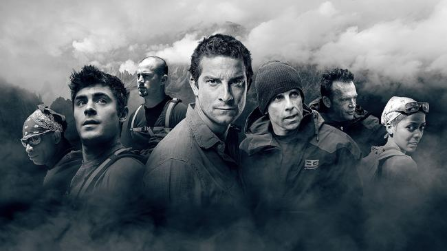 A partir do próximo sábado, Bear Grylls vai levar seis celebridades (Zac Efron, Channing Tatum, Tom Arnold, Ben Stiller, Tamron Hill e Deion Sanders) para a selva na nova série de Running Wild with Bear Grylls