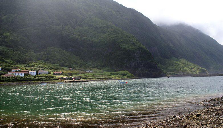 Fajã de Santo Cristo, Lagoa, Calheta, ilha de São Jorge, Açores
