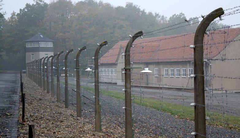 Campo de concentração nazi de Buchenwald, no oeste da Alemanha