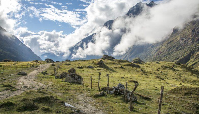 O glaciar de Machu Picchu