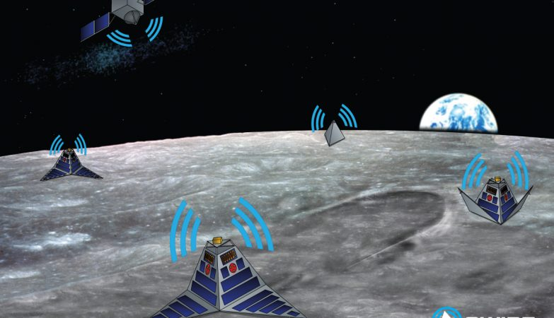 Simulação do projeto SWIPE, Space WIreless sensor networks for Planetary Exploration