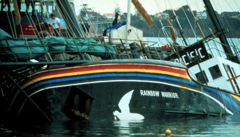 Rainbow Warrior, o navio da Greenpeace afundado em 1985 por agentes secretos franceses
