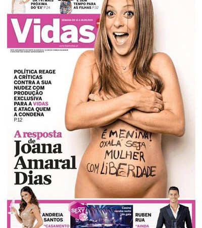 Joana Amaral Dias Revista Vidas