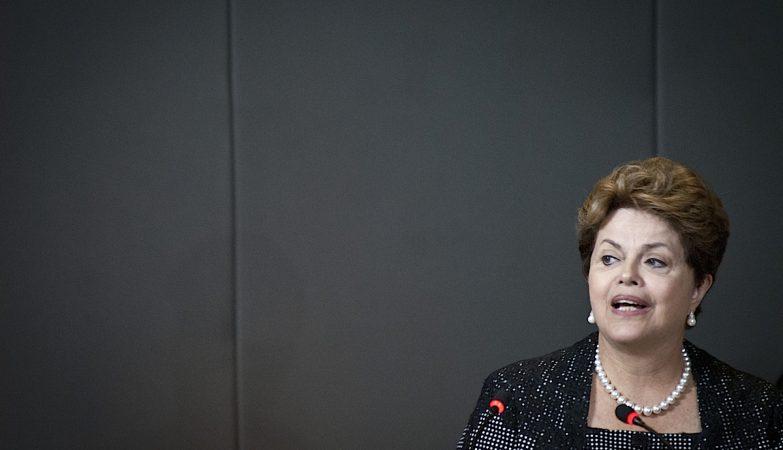 A presidente do Brasil, Dilma Rousseff