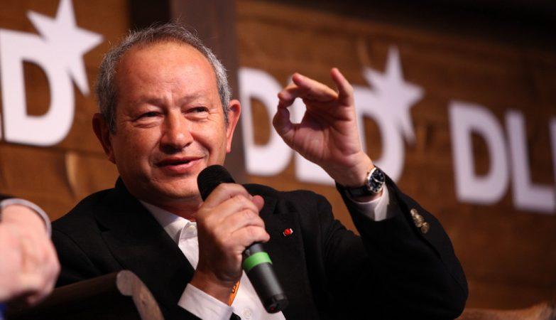 O empresário egípcio Naguib Sawiri