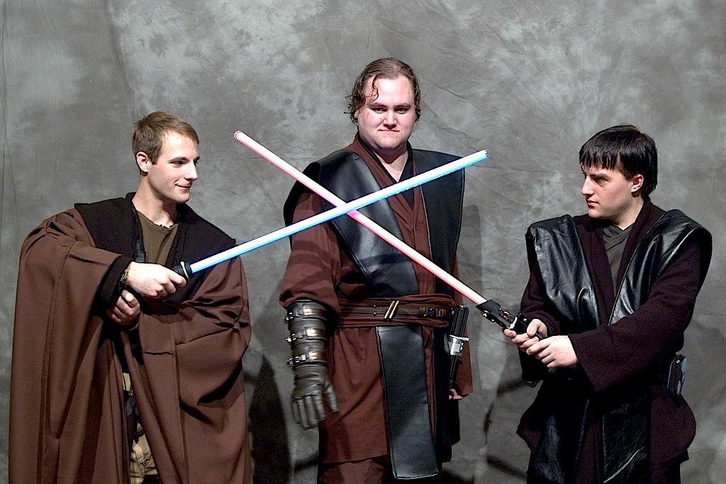 Cavaleiros Jedi e os seus icónicos sabres laser