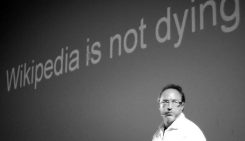 Jimmy Wales, fundador da Wikipedia
