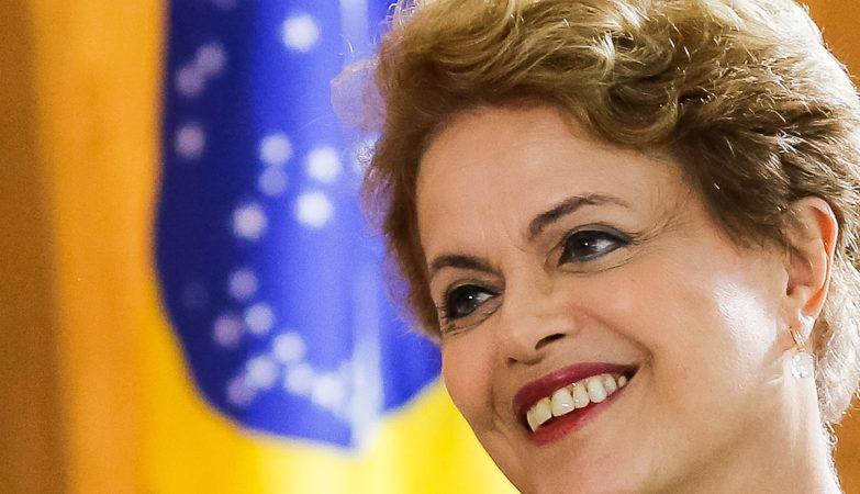 A presidente do Brasil, Dilma Rousseff,