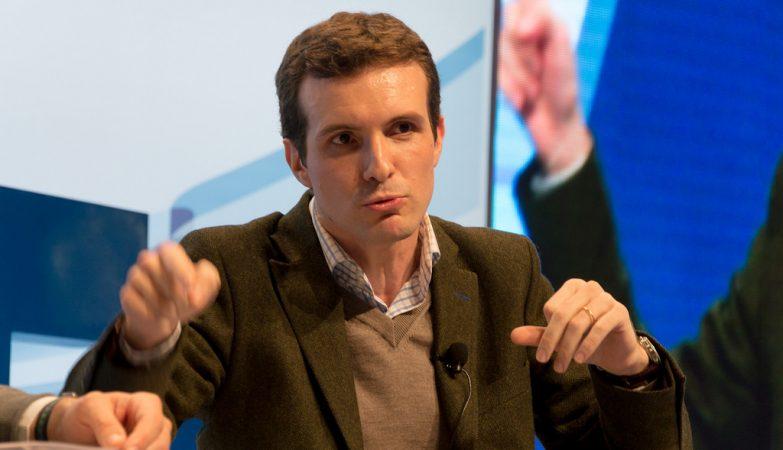 O vice-secretário para a comunicação do PP espanhol, Pablo Casado