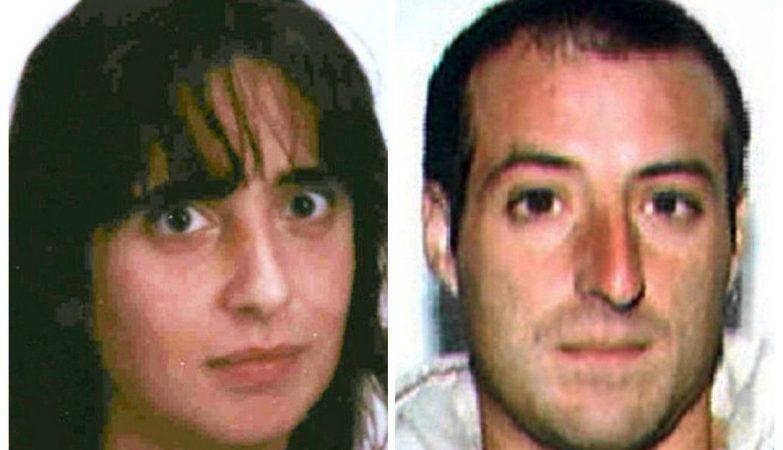 Iratxe Sorzabal e David Pla, dois líderes do grupo terrorista ETA, que foram detidos em França