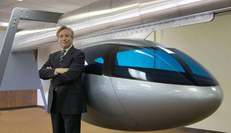 Jerry Sanders, diretor-geral da SkyTran, empresa de taxis voadores